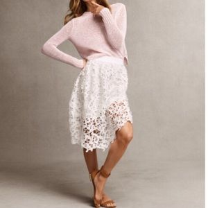 ♥️ Ann Taylor Lace Skirt ♥️
